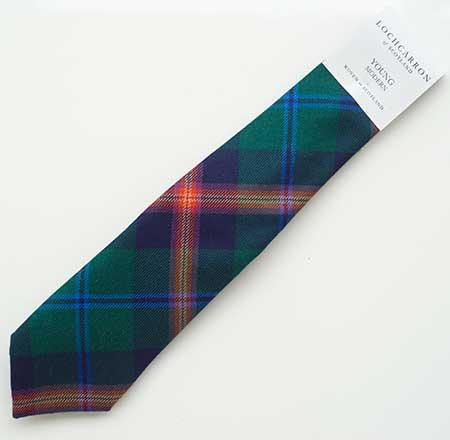 Young Tartan Tie