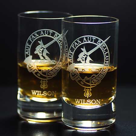 Wilson Clan Shot Glass - Set of Two