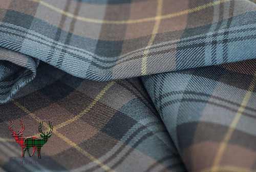 Gordon Weathered Heavyweight Tartan Fabric
