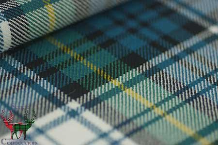 Gordon Dress Ancient Tartan Fabric