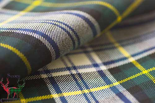 Dress Gordon Tartan Fabric