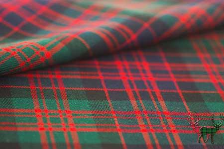 MacDonald Clan Tartan Fabric