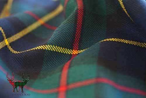 MacLaren Modern Mediumweight Tartan Fabric