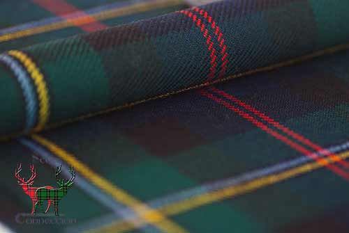 Malcolm Modern Tartan Close-up
