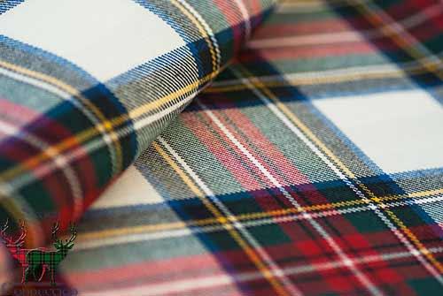 Stewart Dress Lightweight Tartan Fabric