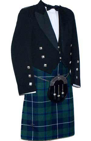 Luxury Prince Charlie Kilt Outfit